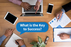 What is the Key to Success? Stock Photography