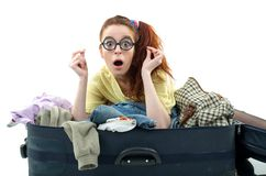 What, are we leaving again? Royalty Free Stock Photography