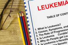 What is leukemia concept Stock Photography