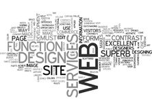 What Makes A Web Design Superb Word Cloud. WHAT MAKES A WEB DESIGN SUPERB TEXT WORD CLOUD CONCEPT Stock Photo