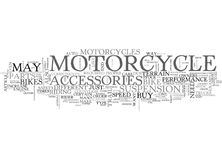 What Matters Most In Motorcycles Word Cloud Stock Photo