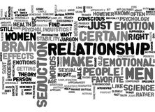 What Men And Women Want Word Cloud Stock Image