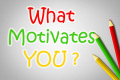 What Motivates You Concept Royalty Free Stock Images