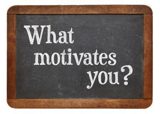 What motivates you ? Royalty Free Stock Photo
