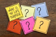 What is my life purpose? royalty free stock image