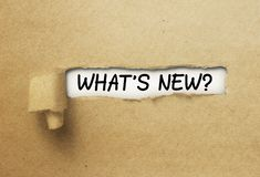 What`s new behind ripped curl paper. What is new behind ripped curl paper stock photos