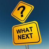 What next question Stock Photo