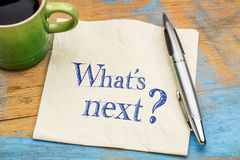What is next question on napkin royalty free stock photos