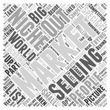 What Niche Marketing word cloud concept. 04 What Niche Marketing is Not Vector Illustration