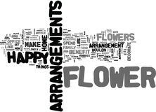 What Is One Flower Benefit That You Know Of Word Cloud Stock Photography