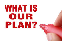 What is our plan Stock Images
