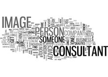 What Qualities To Look For In An Image Consultantword Cloud Royalty Free Stock Image
