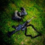 What& x27 s που αφήνεται στον τομέα μάχης στοκ εικόνα με δικαίωμα ελεύθερης χρήσης