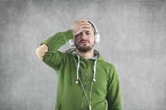 What's bad music Royalty Free Stock Image