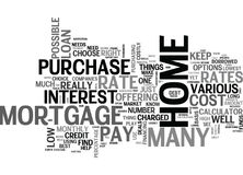 What S The Mortgage Rate Word Cloud. WHAT S THE MORTGAGE RATE TEXT WORD CLOUD CONCEPT Royalty Free Stock Photos