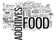 What S That In My Food Word Cloud Royalty Free Stock Photos