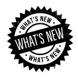 What s New rubber stamp Royalty Free Stock Image