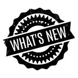 What s New rubber stamp Royalty Free Stock Photos