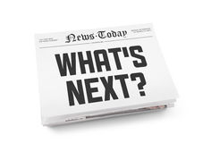 Free What S Next Headline Stock Image - 28087651