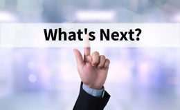What`s Next? Stock Image