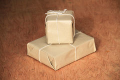 What's in the parcel Royalty Free Stock Images