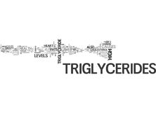 What S Up With My Triglycerides Word Cloud Stock Image