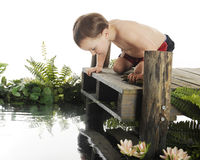 What's in the Water? Stock Photography