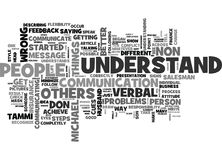 What S Wrong With You Why Don T You Understand Me Word Cloud Stock Image