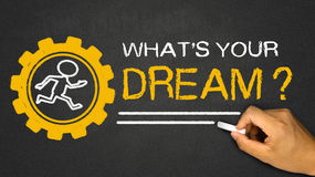 what's your dream? Royalty Free Stock Image