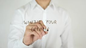 What's Your Dream ?, Written on Glass stock photos