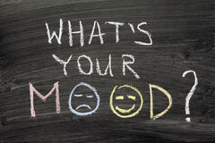 What's your mood Royalty Free Stock Photos