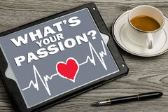 What's your passion ? Royalty Free Stock Photos