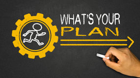 what's your plan? Stock Photos