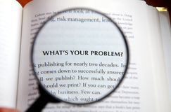 What's your problem? Royalty Free Stock Photos
