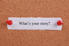What s Your Story? royalty free stock photos