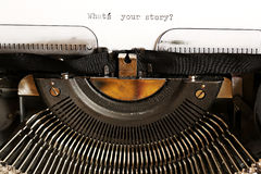 What's your story? Royalty Free Stock Images