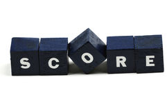 What is the score? Royalty Free Stock Image