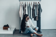 What should I wear? Royalty Free Stock Image