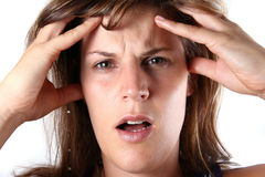 What A Stress! Stock Photography