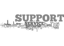 What Is Support Word Cloud Stock Photography