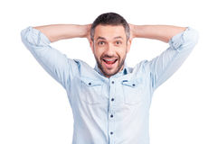 What a surprise! Royalty Free Stock Images