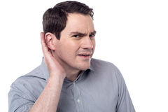 What there are talking ? Stock Image