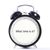 What time is it ? Stock Photos