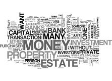 What To Do When The Banks Say No Word Cloud Stock Images