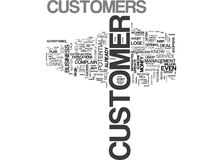 What To Do When Customers Complain Word Cloud. WHAT TO DO WHEN CUSTOMERS COMPLAIN TEXT WORD CLOUD CONCEPT Royalty Free Stock Photo