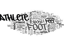 What To Do To Cure Athletes Foot Word Cloud. WHAT TO DO TO CURE ATHLETES FOOT TEXT WORD CLOUD CONCEPT Stock Images