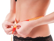 What to do to lose weight? Stock Photography