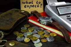 What to expect from the economy in times of crisis Royalty Free Stock Photos