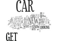 What To Know If You Are In The Market For A New Carword Cloud Royalty Free Stock Image