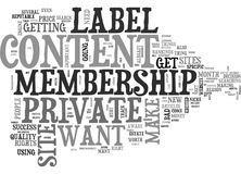 What To Look For In A Private Label Membership Sites Word Cloud. WHAT TO LOOK FOR IN A PRIVATE LABEL MEMBERSHIP SITES TEXT WORD CLOUD CONCEPT Stock Image